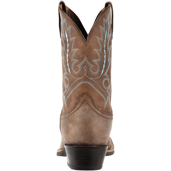 Ariat Men's Sport Outfitter Distressed Brown 10011801 heel