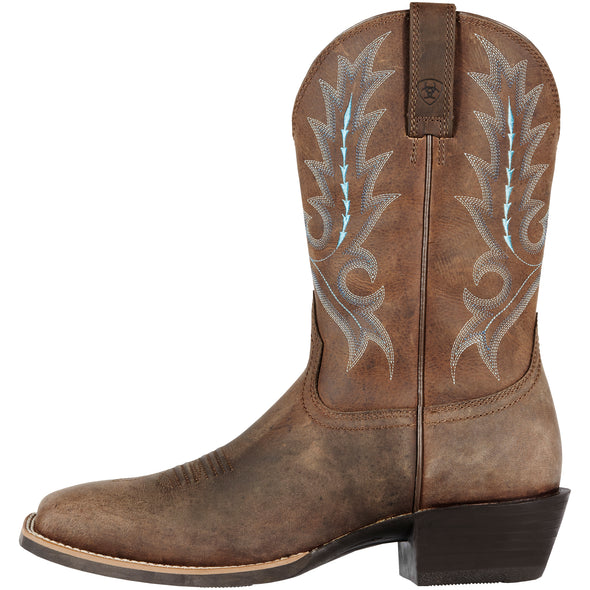 Ariat Men's Sport Outfitter Distressed Brown 10011801 side
