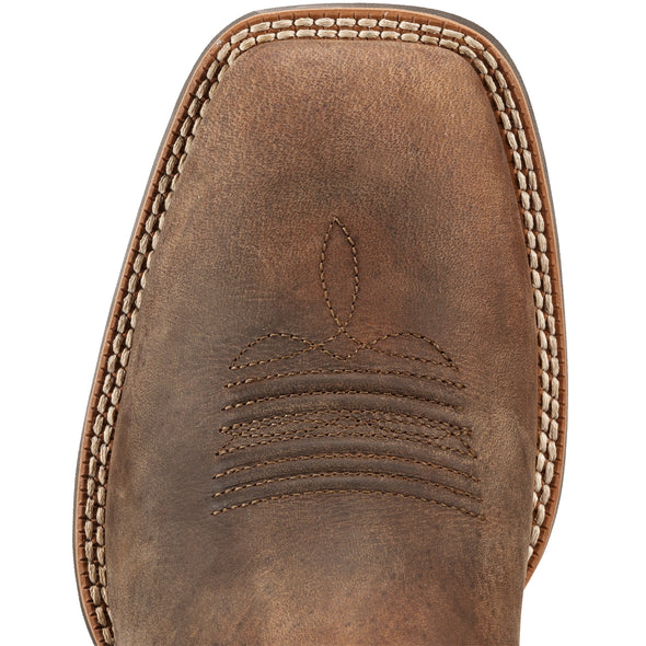 Ariat Men's Sport Outfitter Distressed Brown 10011801 toe