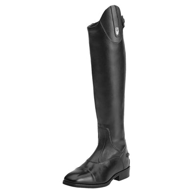 Women's Monaco Stretch Zip Tall Riding Boots in Black 10012951 Ariat