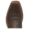 Round Up Square Toe Powder Brown toe