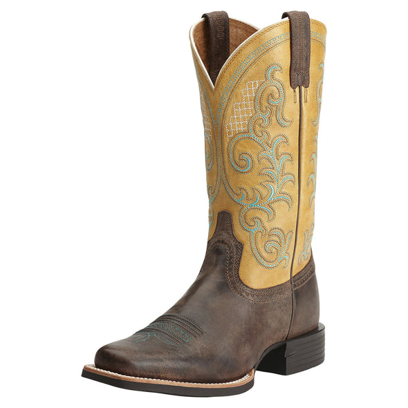 Ariat Women's Quantum Performer Silly Brown / Seashell 10014182
