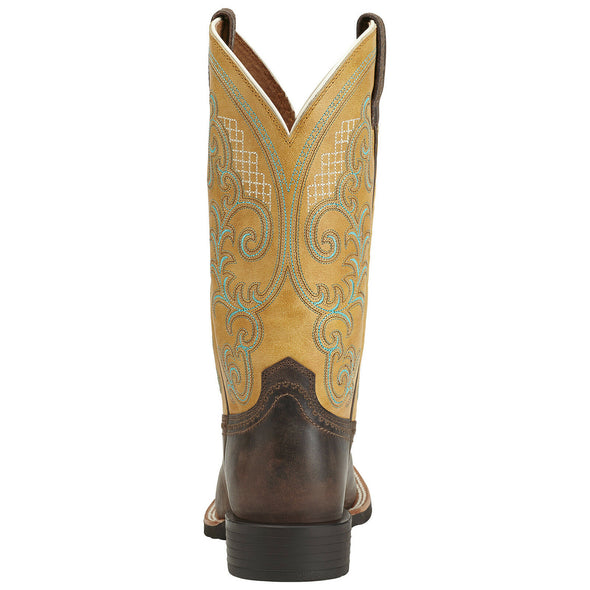 Ariat Women's Quantum Performer Silly Brown / Seashell 10014182 heel