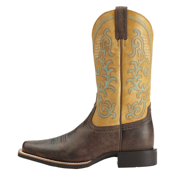 Ariat Women's Quantum Performer Silly Brown / Seashell 10014182 side