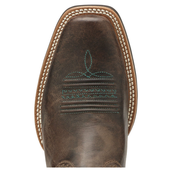 Ariat Women's Quantum Performer Silly Brown / Seashell 10014182 toe
