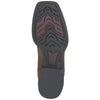 Ariat Men's Heritage Roper Wide Square Toe Brown outsole