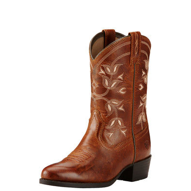 Kid's Desert Holly Western Boots in Coyote Brown 10018647 Ariat