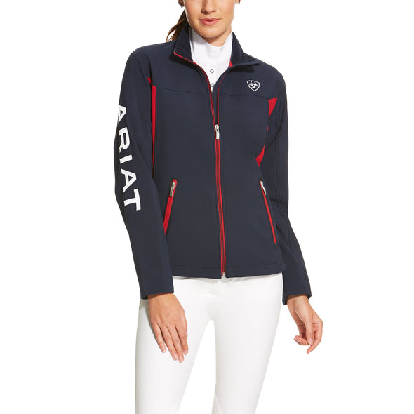 Ariat Women's New Team Softshell Jacket Navy 10019208