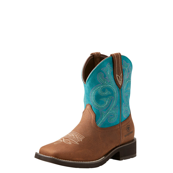 Women's Shasta Waterproof Western Boots in Baked Brown 10021477 Ariat