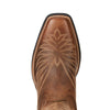 Women's Round Up Phoenix Western Boots in Rodeo Tan 10021584 Ariat toe