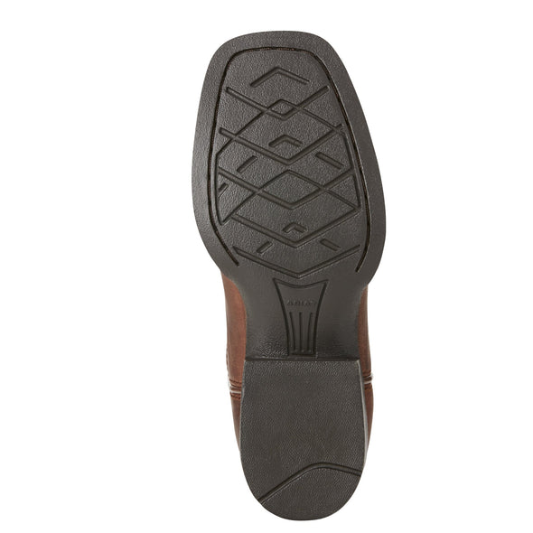 Ariat Kid's Tycoon Brazen Brown outsole
