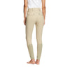 Ariat Women's Tri Factor Grip Full Seat Breech Tan back