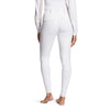 Ariat Women's Tri Factor Grip Full Seat Breech White back