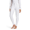 Ariat Women's Tri Factor Grip Full Seat Breech White 10021778