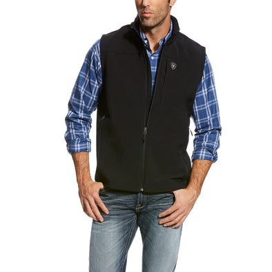 Ariat Men's Vernon 2.0 Softshell Vest Black 10023335