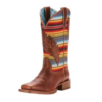 Ariat Women's Circuit Feather Autumn Tan / Old Serape Print 10025050