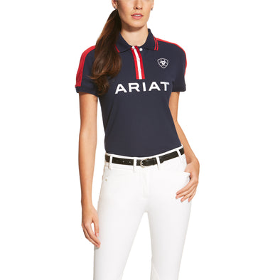 Ariat Women's New Team Polo 2.0 Navy 10034417