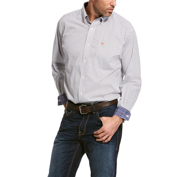 Men's Wrinkle Free Vaness Classic Fit Shirt Cotton, 10028081 Ariat