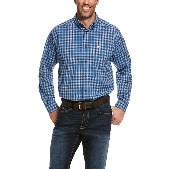 Men's Pro Series Tompkins Stretch Classic Fit Shirt Cotton, 10028203 Ariat