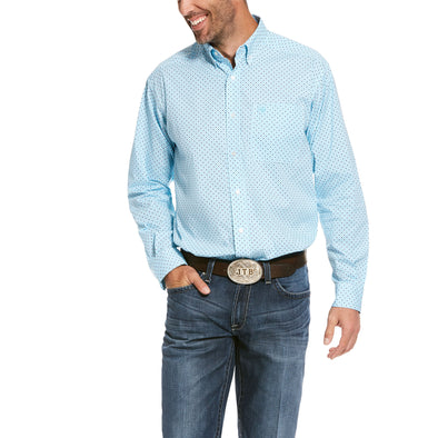 Men's Tarleton Stretch Classic Fit Shirt Cotton, 10028262 Ariat
