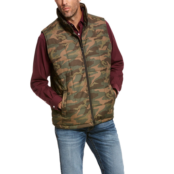 Men's Crius Insulated Vest in Camo, 10028370 Ariat