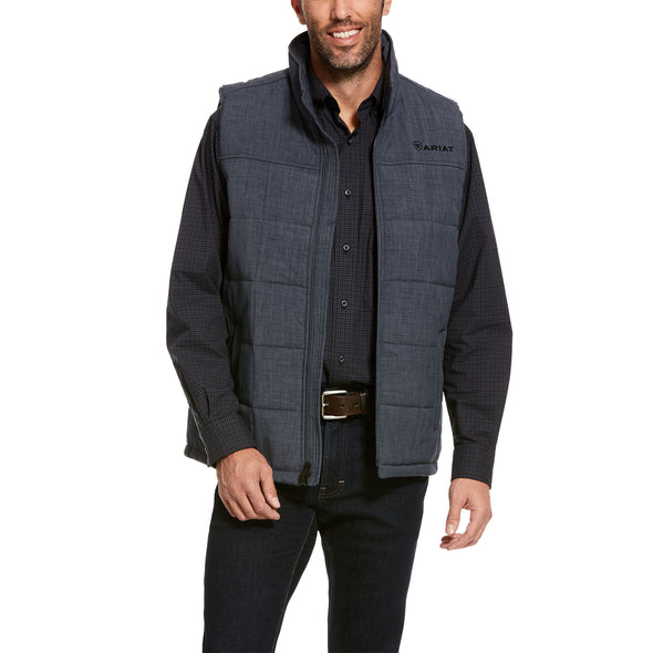 Men's Crius Insulated Vest in Slate Heather, 10028382 Ariat