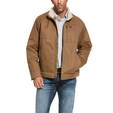 Men's Grizzly Canvas Jacket in Cub Cotton, 10028399 Ariat