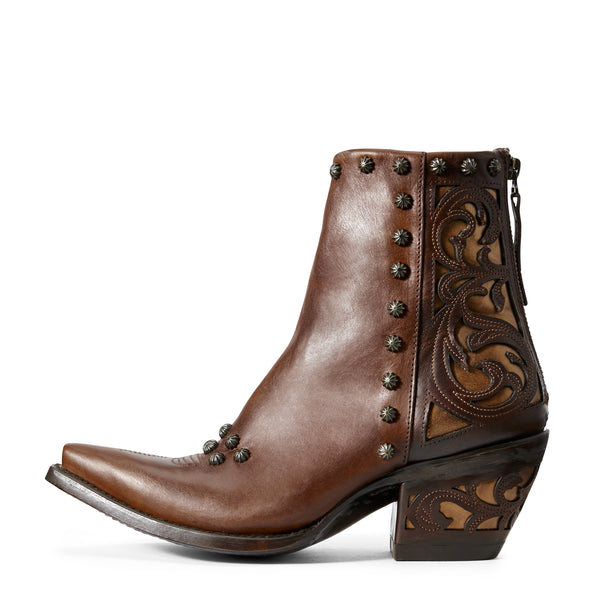 Ariat Women's Diva Warm Cognac 10029668 side