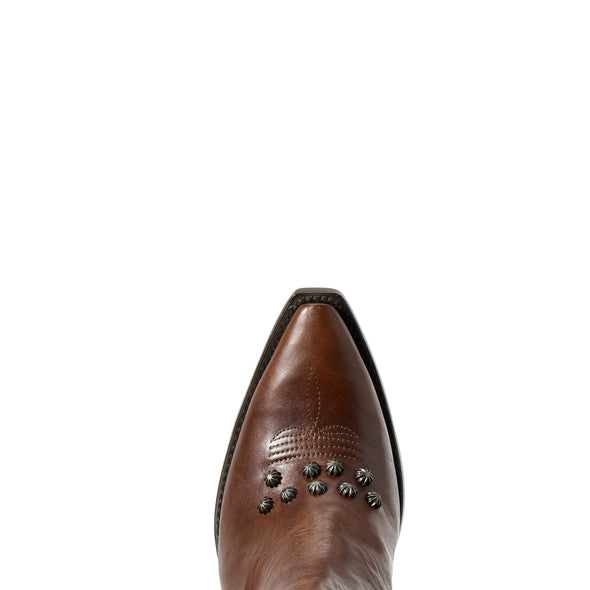 Ariat Women's Diva Warm Cognac 10029668 toe