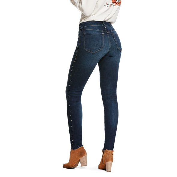 Ariat Women's Ultra Stretch Skinny Olivia Evening 10027698 back