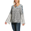 Women's Camilla Tunic Top in Multi Print, 10028379 Ariat