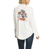 Women's Ride Um Shirt in Snow White, 10028390 Ariat back