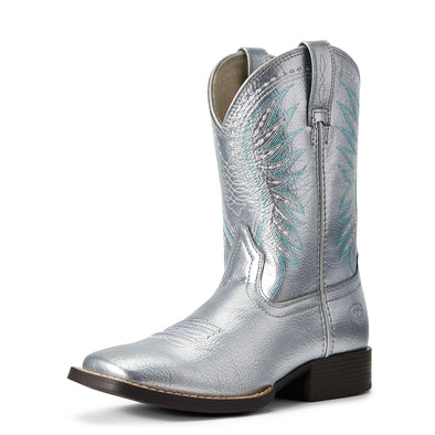 Ariat Girls Rodeo Jane Shining Silver 10029769