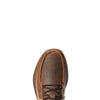 Ariat Men's Country Mile Earth Brown Bomber 10034019 toe