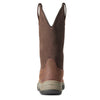 Women's Terrain Pull On Waterproof Boots in Dark Brown 10033927 Ariat heel