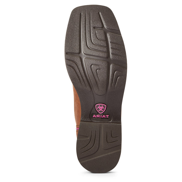 Ariat Women's Azalea Light Toffee / Navy 10033916 outsole