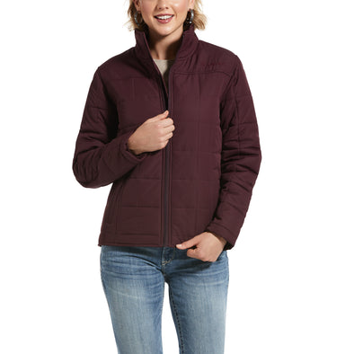 Women's REAL Crius Jacket in Winetasting, 10032983 Ariat