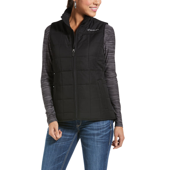Women's REAL Crius Vest 10032984 Black, X-Small by Ariat