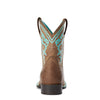 Cattle Cate Distressed Brown 10034067 Ariat heel
