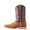 Kid's Vaquera Western Boots in Weathered Brown 10023071 Ariat side