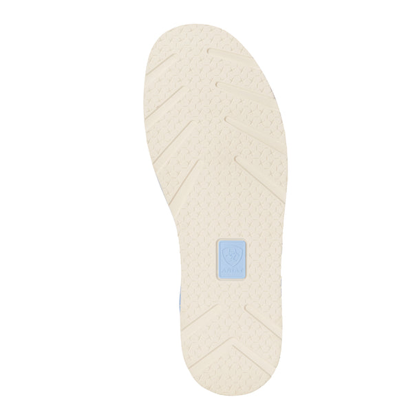 Women's Bit Cruiser Baby Blue 10023038 Ariat outsole