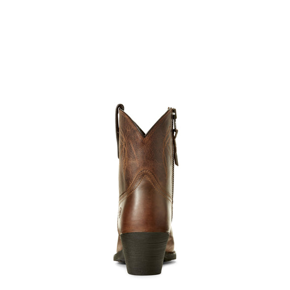 Ariat Women's Lovely Sassy Brown 10027229 heel