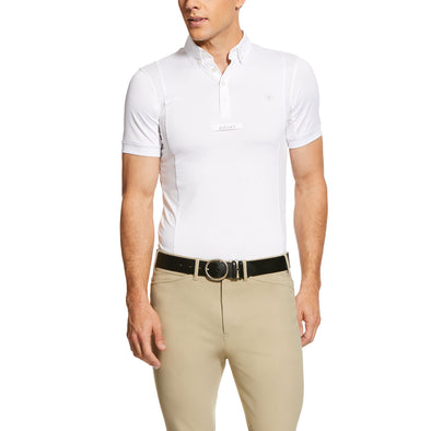 Men's TEK Show Shirt in White,10030519 Ariat