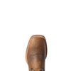 Men's Double Kicker Western Boots in Earth Leather, 10031442 Ariat toe