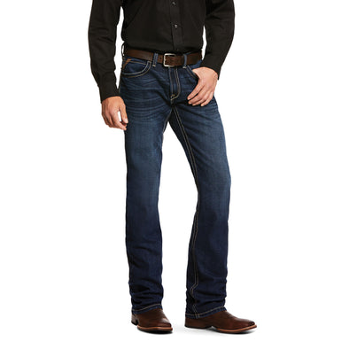 Men's M5 Slim Stretch Wiley Stackable Straight Leg Jeans in Denali Cotton, 10030233 Ariat