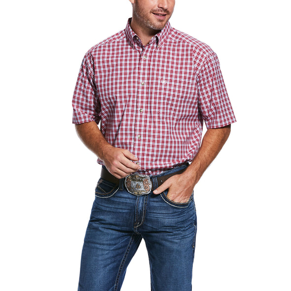 Mens Pro Series Tiburon Classic Fit Shirt 10031803 Ariat