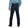 Men's M4 Low Rise Stretch Decateur Cooling Stackable Straight Leg Jeans in Roth 10031910 Ariat back