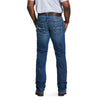 Men's M5 Slim Stretch Casey Cooling Stackable Straight Leg Jeans in Del Mar 10031995 Ariat back