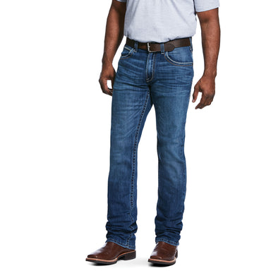 Men's M5 Slim Stretch Casey Cooling Stackable Straight Leg Jeans in Del Mar 10031995 Ariat