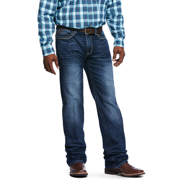 Men's M4 Low Rise Stretch Huron Boot Cut Jeans in Denali Cotton, 10032085 Ariat